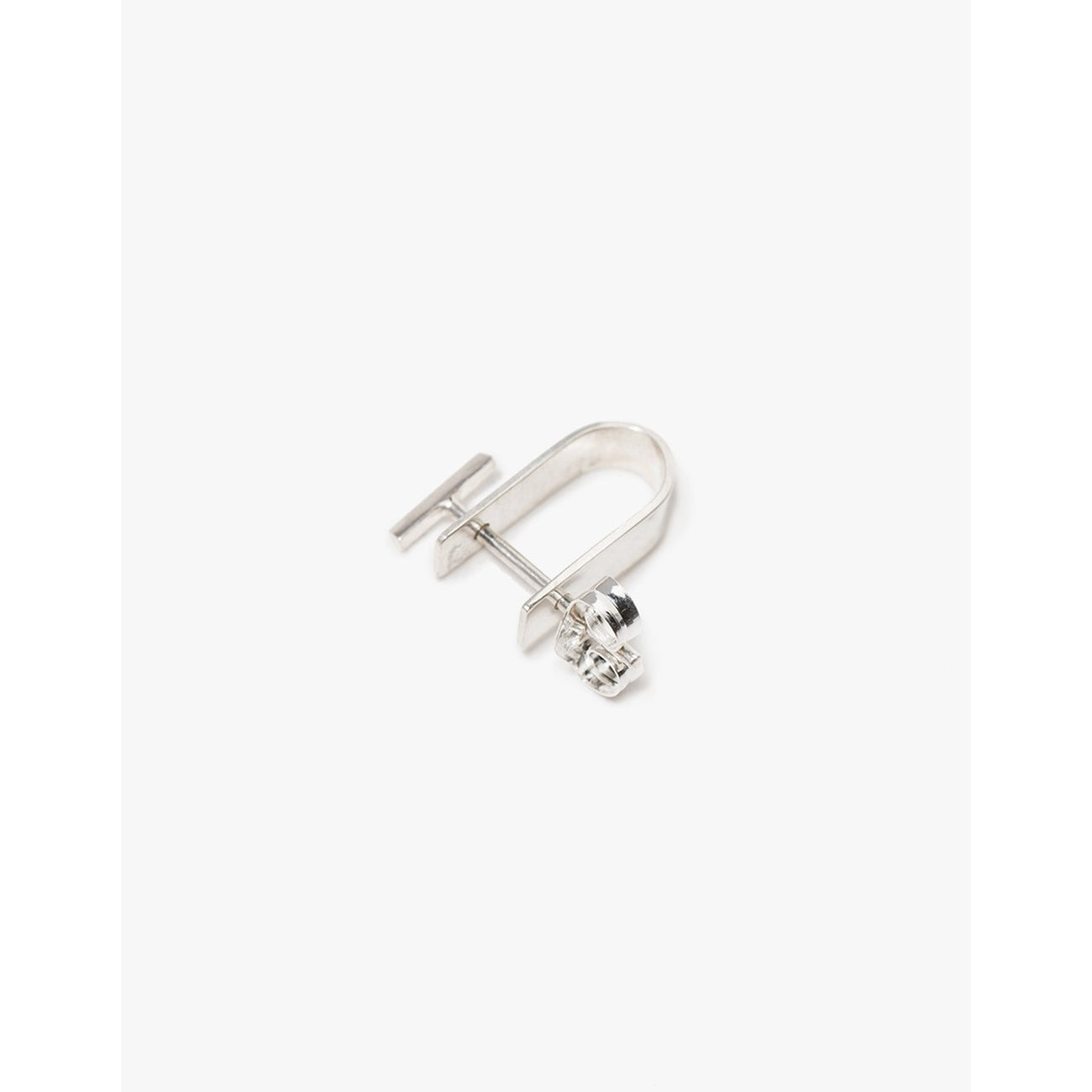 Kathleen Whitaker Bevel Stud and Small Cuff in Sterling Silver