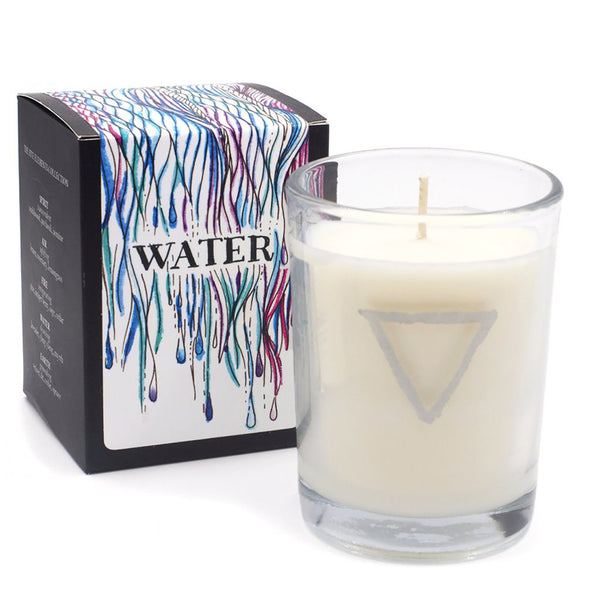 The Wild Unknown Five Elements Candle: Water