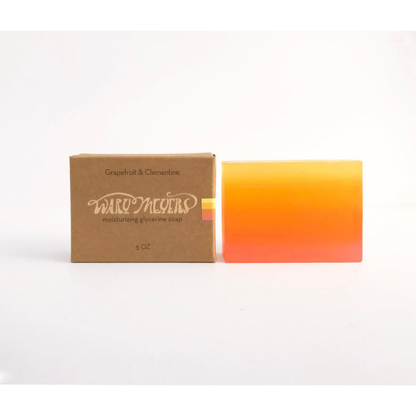 Wary Meyers Grapefruit & Clementine Glycerine Soap