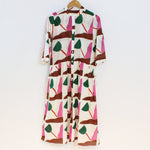 lillian dress in wayne pate tulips print