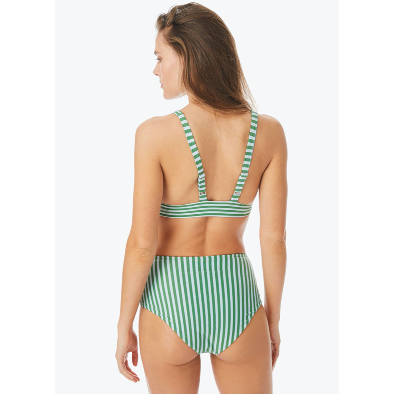 high waisted bikini in sundial