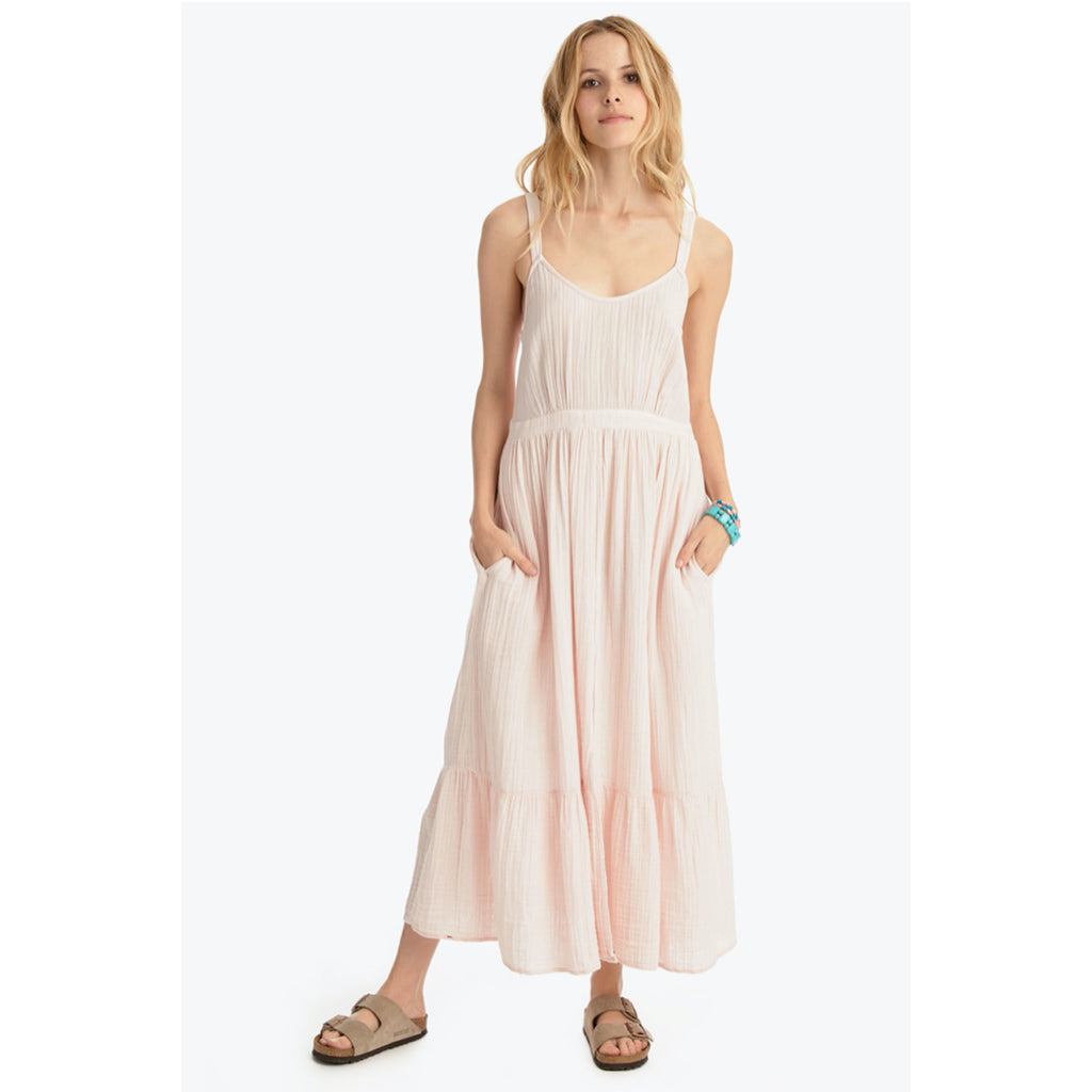 oaklyn dress in rose quartz