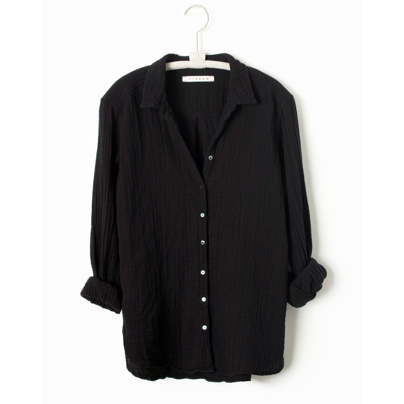 scout shirt in black