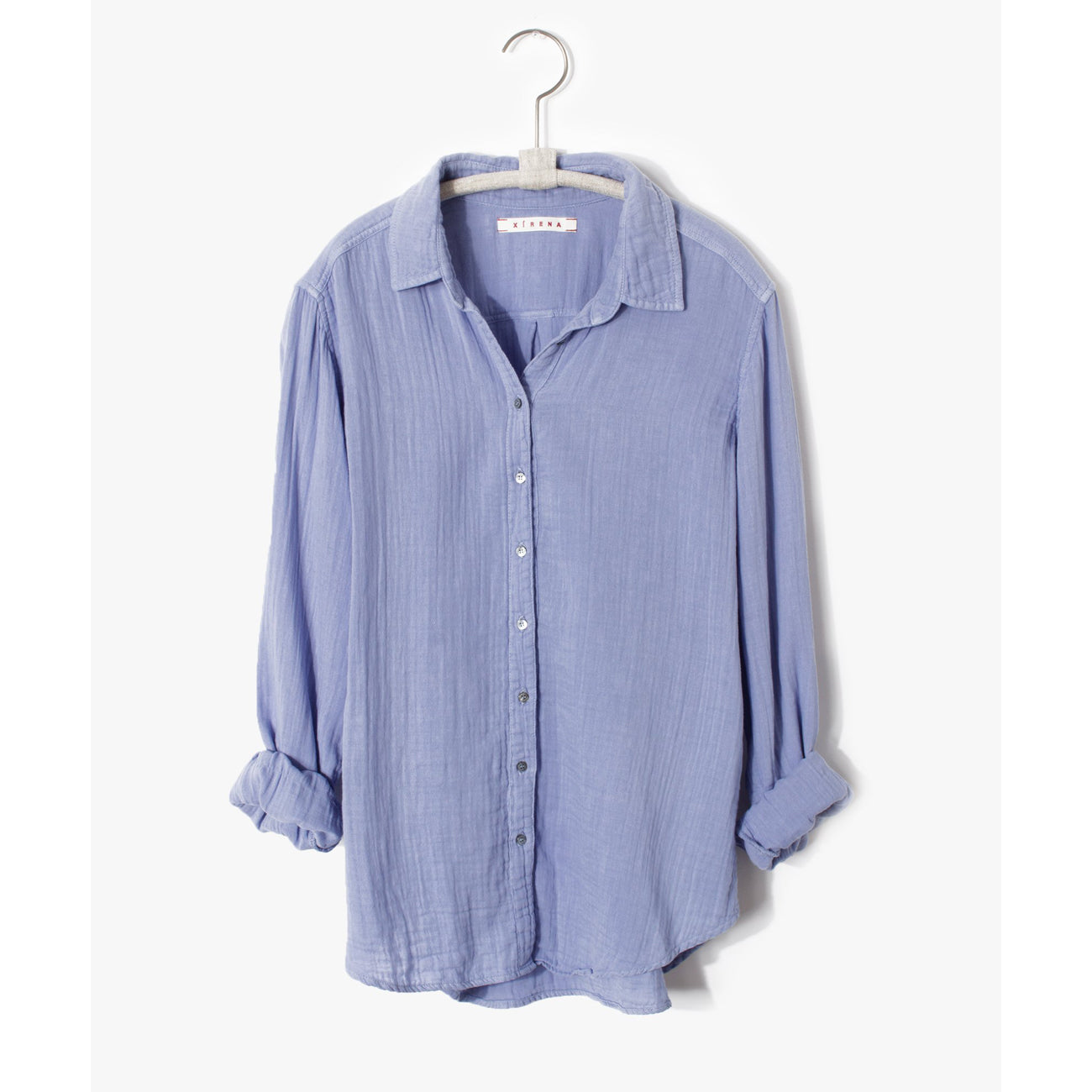 Xirena Scout Shirt in Blue Waters