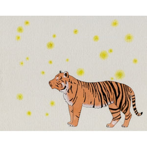 Tiger and Fireflies
