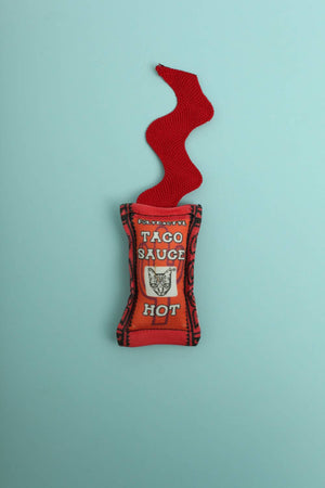 Hot Taco Sauce Cat Toy