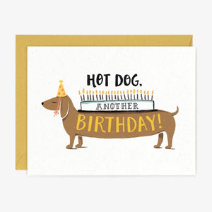 Hot Dog Another Birthday Card