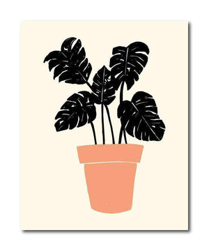 Plant Series No.3 Botanical Art Print - 8X10