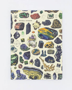 Gems & Minerals Softcover - Lined