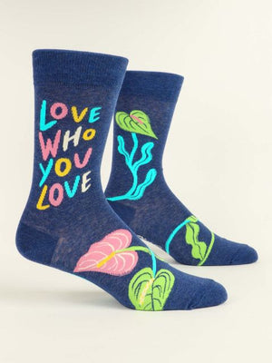 Love Who You Love Mens Sock