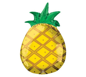 Tropical Pineapple Jr. Foil Balloon