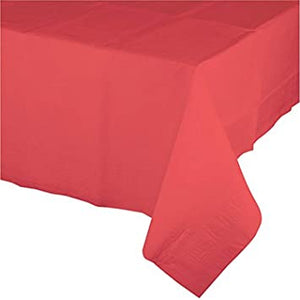 Touch of Color Tablecover - Coral