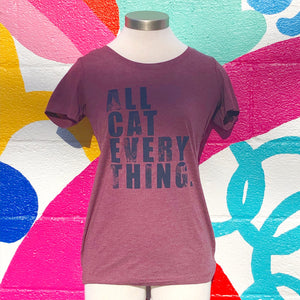 All Cat Everything Tshirt