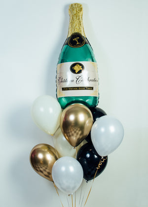 Champagne Balloon Bundle