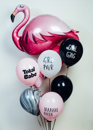 Flamingo Balloon Bundle