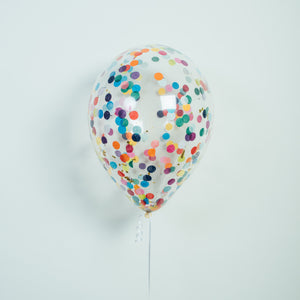 "11"" Latex Confetti Balloon"