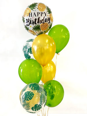 Golden Pineapple Balloon Bundle