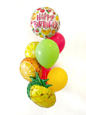 Birthday Fruit Salad Balloon Bundle