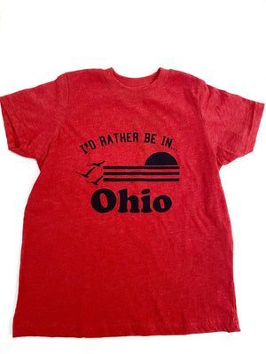 I'd Rather Be In Ohio Toddler T-Shirt