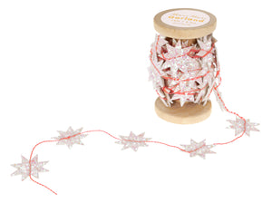 Iridescent Star Spool Garland