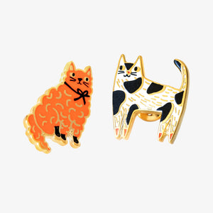 Cats Up Close Earrings