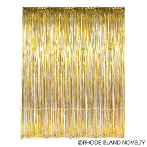 Gold Foil Fringe Curtain