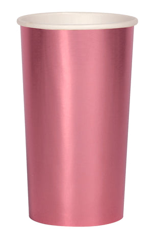 Metallic Pink Highball Cup