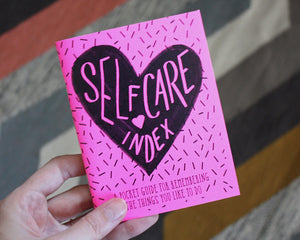 Self-Care Index Zine