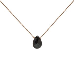 Stress Relief: Black Onyx Intention Necklace