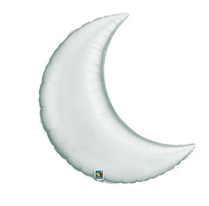 Crescent Moon Foil Balloon