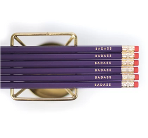 Badass Gold Foil Pencils