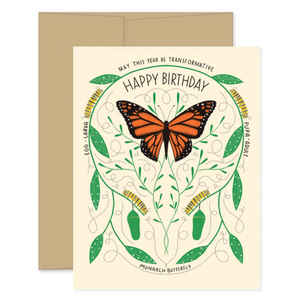 Transformative Birthday Card