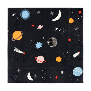 To The Moon Space Napkins (Small)