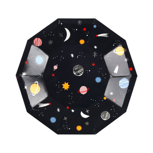 To The Moon Space Plates (Small)
