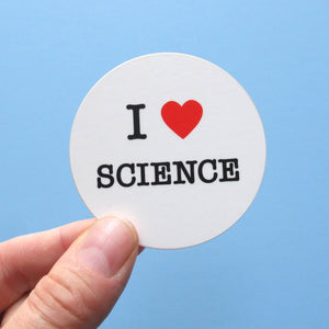 I love science sticker