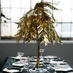 Metallic Cascade Centerpiece