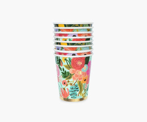 Rifle Paper- Garden Party 8 oz cups