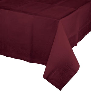 Touch of Color Tablecover - Burgundy