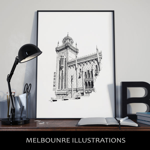 Melbourne Illustrations