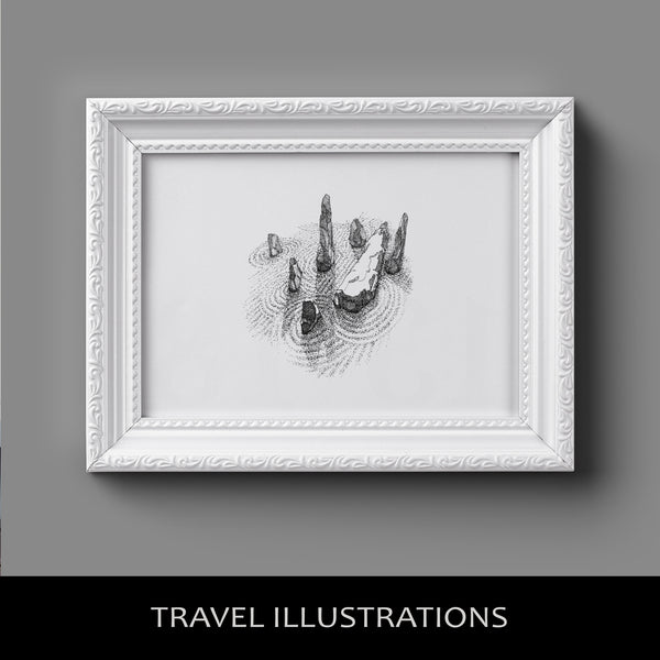 Travel Illustrations