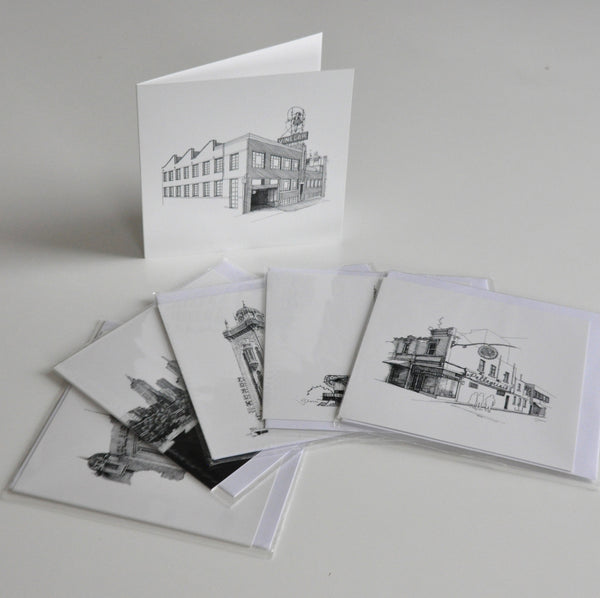 Melbourne Sketch Greeting Cards