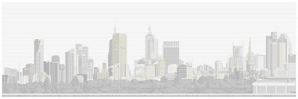Melbourne Spreadsheet Skyline