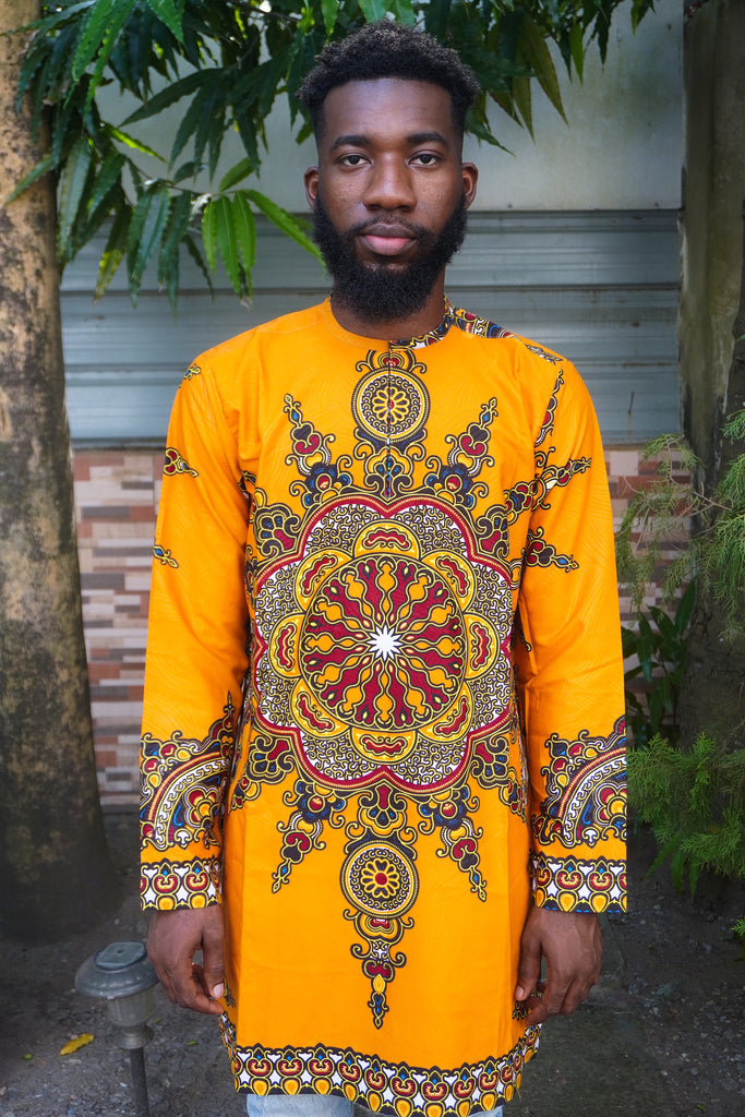 Dashiki Long Sleeve