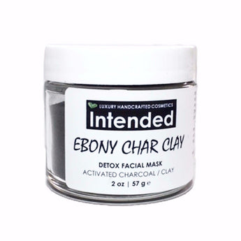 Ebony Char Clay | Detox Facial Mask