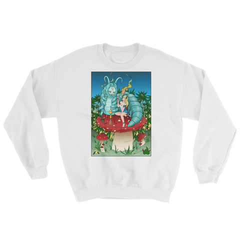 Alice In Wonderland Sweatshirt Chronic Threads Inc