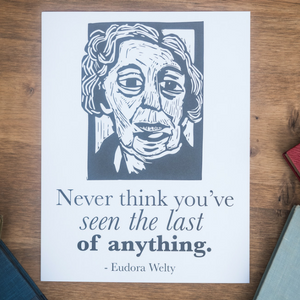 Eudora Welty poster