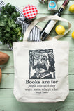 Mark Twain tote bag bookish gifts for sale