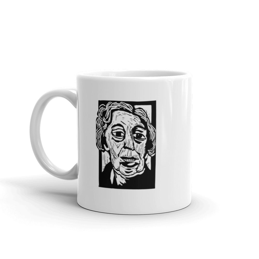 Eudora Welty mug, 11 ounces