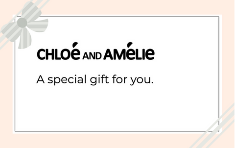 Chloé and Amélie Gift Card
