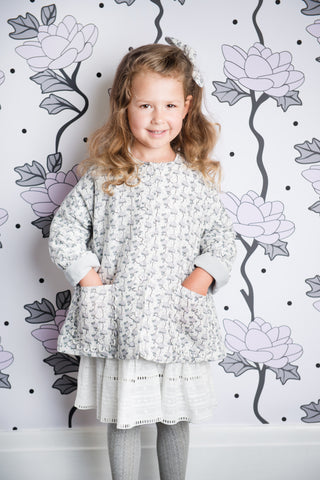 Hush Little Baby Jacket - Magnolia